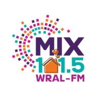 Logo of radio station MIX 101.5 WRAL-FM