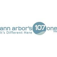Logo de la radio WQKL ann arbor's 107.1