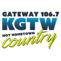 Logo of radio station KGTW Gateway 106.7
