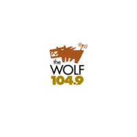 Logo of radio station CFWF-FM 104.9 The Wolf