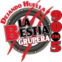 Logo de la radio XHECO La Bestia Grupera 90.5 FM
