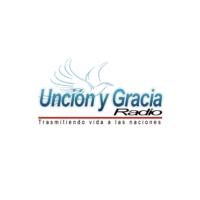 Logo of radio station Unción y Gracia Radio