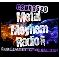 Logo of radio station CSNX-9520: Metal Meyhem Radio