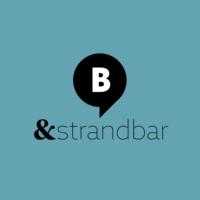 Logo de la radio & Strandbar. Von barba radio