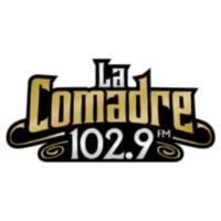 Logo of radio station La Comadre 102.9 FM