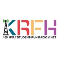 Logo de la radio KRFH 105.1 FM
