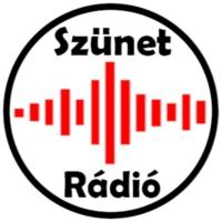Logo of radio station Szünet Rádió