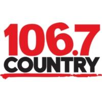 Logo of radio station CIKZ-FM Country 106.7