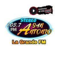Logo of radio station Stereo San Antonio FM