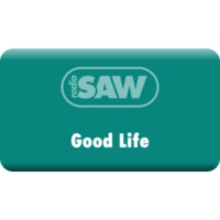 Logo of radio station radio SAW-Good Life
