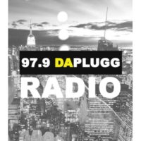 Logo of radio station 97.9 Da Plugg Radio