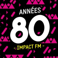 Logo de la radio Impact FM - Années 80