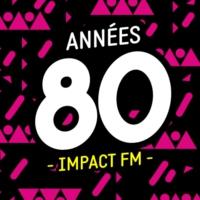Logo of radio station Impact FM - Années 80