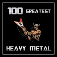 Logo of radio station 100 GREATEST HEAVY METAL