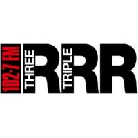 Logo de la radio Triple R 102.7FM