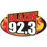 Logo of radio station WLZN Blazin' 92.3
