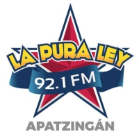 Logo of radio station La Pura Ley 92.1 FM