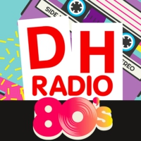 Logo of radio station DH Radio 80