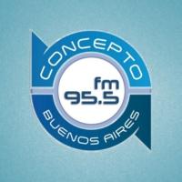 Logo de la radio Concepto FM 95.5