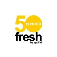Logo de la radio 50fresh ELEKTRO - by egoFM