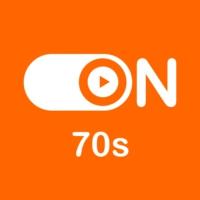 """Logo de la radio """"ON 70s"""""""