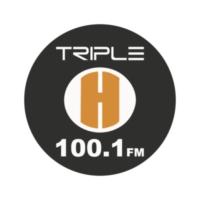 Logo de la radio Triple H 100.1 FM