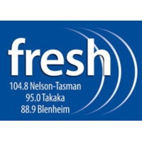 Logo de la radio Fresh FM - New Zealand