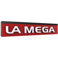 Logo of radio station La Mega Estación