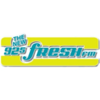 Logo de la radio CKNG Fresh FM 92.5