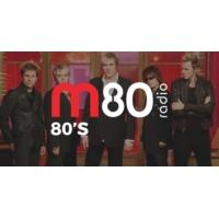Logo of radio station M80 Rádio - 80's