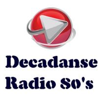 Logo of radio station Décadanse Radio 80's