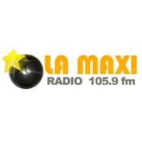 Logo of radio station La Maxi Radio