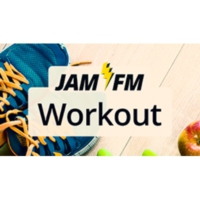 Logo of radio station JAM FM Workout