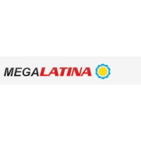 Logo de la radio Megalatina 100.1 FM