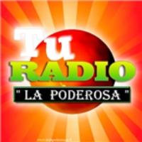 Logo de la radio La Poderosa 100.3