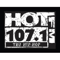 Logo of radio station KXHT-FM Hot 107.1
