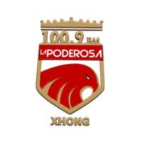 Logo of radio station XHONG La Poderosa Ojinaga 100.9 FM