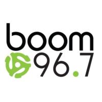 Logo de la radio CFXW-FM boom 96.7