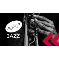 Logo of radio station Musiq3 Jazz (RTBF)