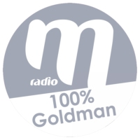 Logo of radio station M Radio - 100% Goldman