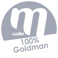Logo of radio station M Radio - 100% Goldman