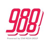 Logo of radio station 988