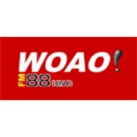 Logo of radio station WOAO