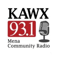 Logo of radio station KAWX Radio