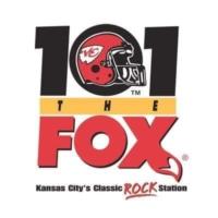 Logo de la radio KCFX 101 The FOX