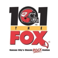 Logo de la radio KCFX 101 The FOX