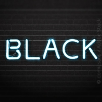 Logo of radio station kronehit - Black