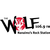 Logo of radio station CHWF-FM 106.9 The Wolf