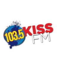Logo de la radio KSAS 103.5 KISS-FM