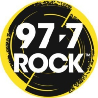 Logo of radio station CFGP-FM 97.7 ROCK
